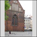 Near Dome Square in Riga...